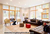 Sắm sofa da rộn ràng đón Tết - Thi công nội thất gỗ