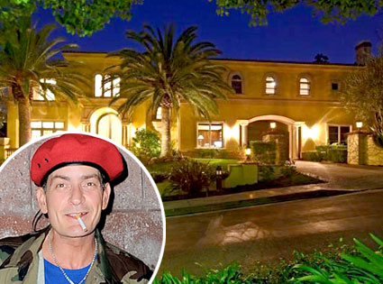 Inside Charlie Sheen S 7m Home Celebrity Houses And