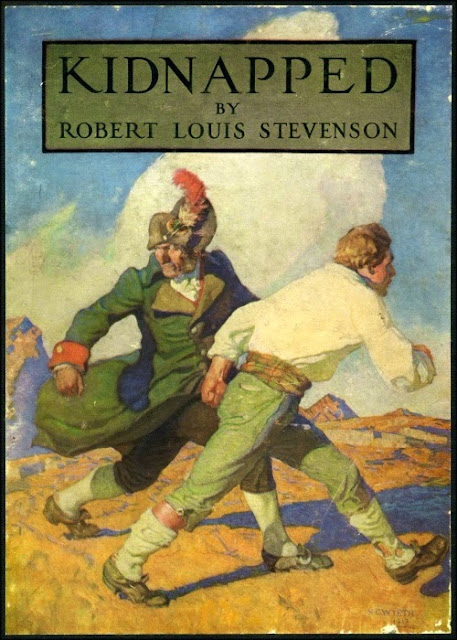 N. C. Wyeth - Kidnapped by Robert Louis Stevenson