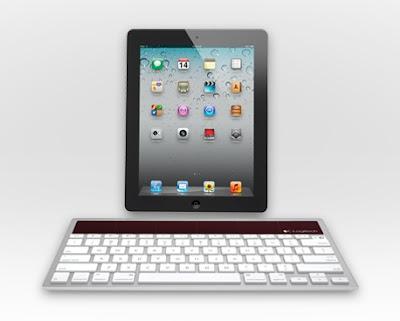 ワイヤレスソーラーキーボードK760 iPadとの組み合わせ