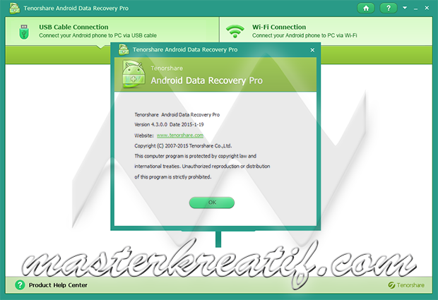 Tenorshare Android Data Recovery 4.3.0