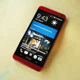HTC One Glamour Red @ Lampung Bridge