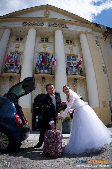 ślub Kasi i Maćka - czas ruszać w drogę