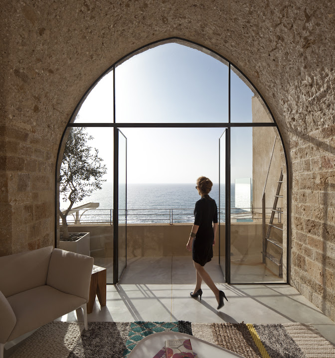 a historic residence in Old Jaffa design by Pitsou kededm architects