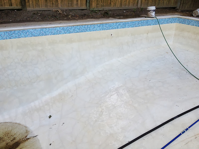 Marbelite pool plaster problems for Pool plaster