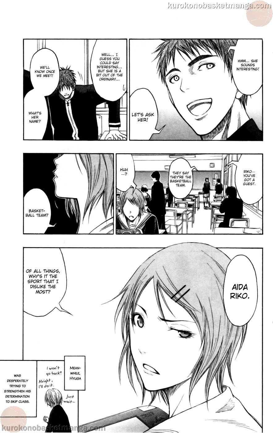 Kuroko no Basket Manga Chapter 95 - Image 21
