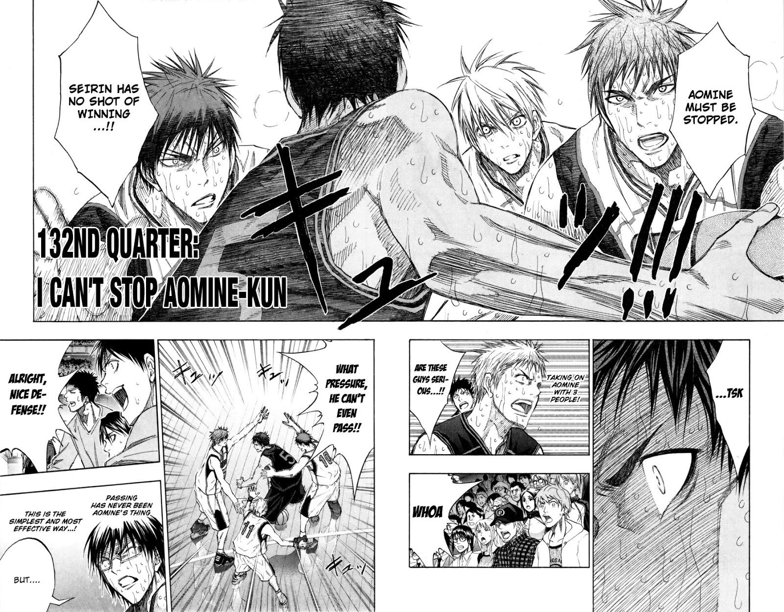 Kuroko no Basket Manga Chapter 132 - Image 02-02