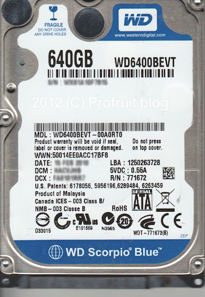 WD6400BEVT