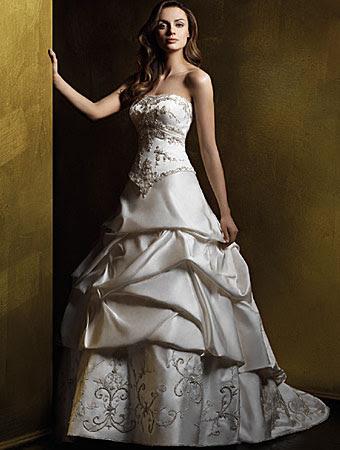 فساتين زفاف لاجمل عروسه