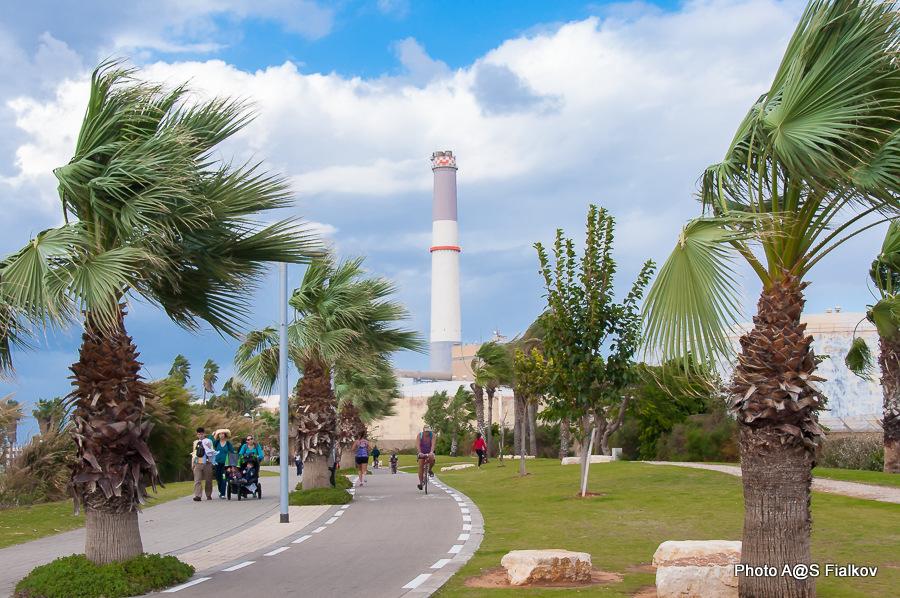 Электростанция Ридинг. Экскурсия в Тель Авиве и Яффо. Гид в Израиле Светлана Фиалкова.
