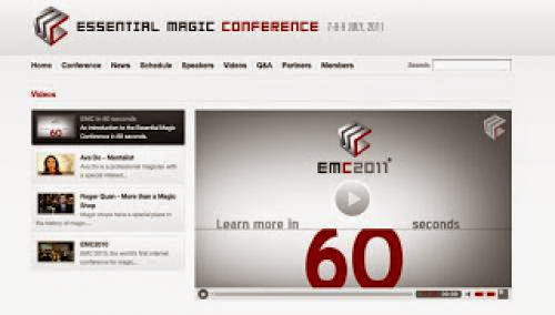 Essential Magic Conference 2011 Is Complete