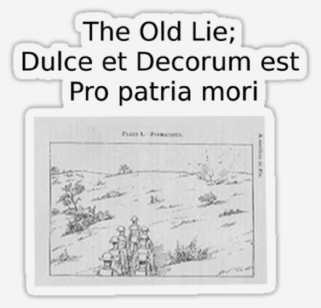 Similarities between macbeth and dulce et decorum est