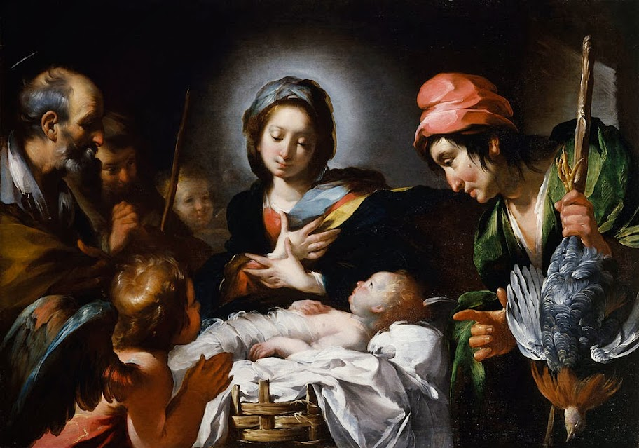 Bernardo Strozzi - Adoration of the Shepherds