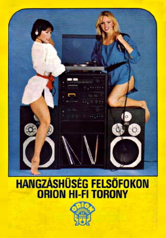 Já não há publicidade sexista como antigamente... ORION%2520Hi-Fi%25201982...