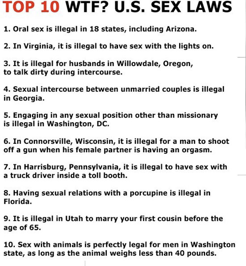 SEX AND LOVE Sex_Laws