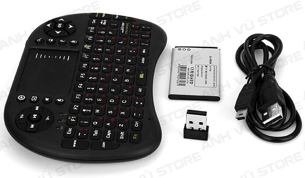 Mini Keyboard UKB-500-RF - Bàn phím kiêm chuột không dây dùng cho Android TV Box, Smart TV 05