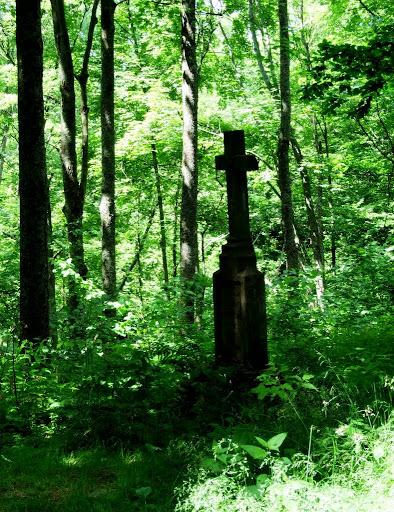 Caryńskie, Bieszczady, cmentarz