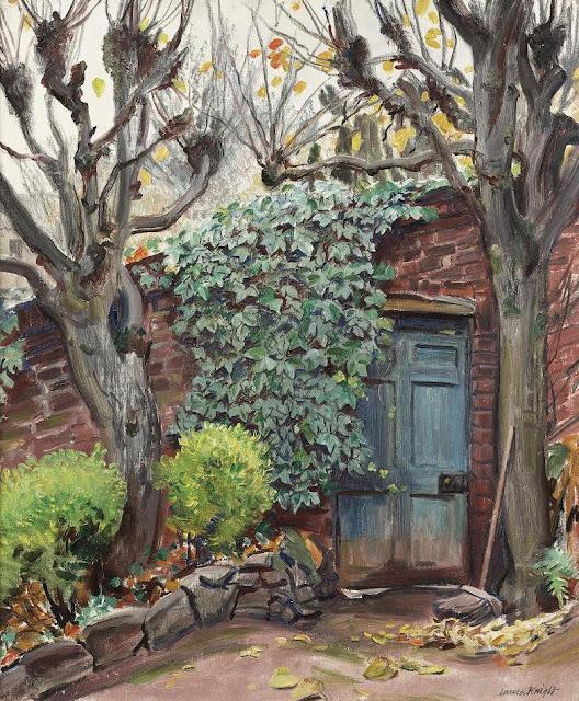 Laura Knight - Garden Door