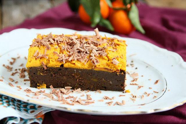Grain Free Fudge Pumpkin Brownies