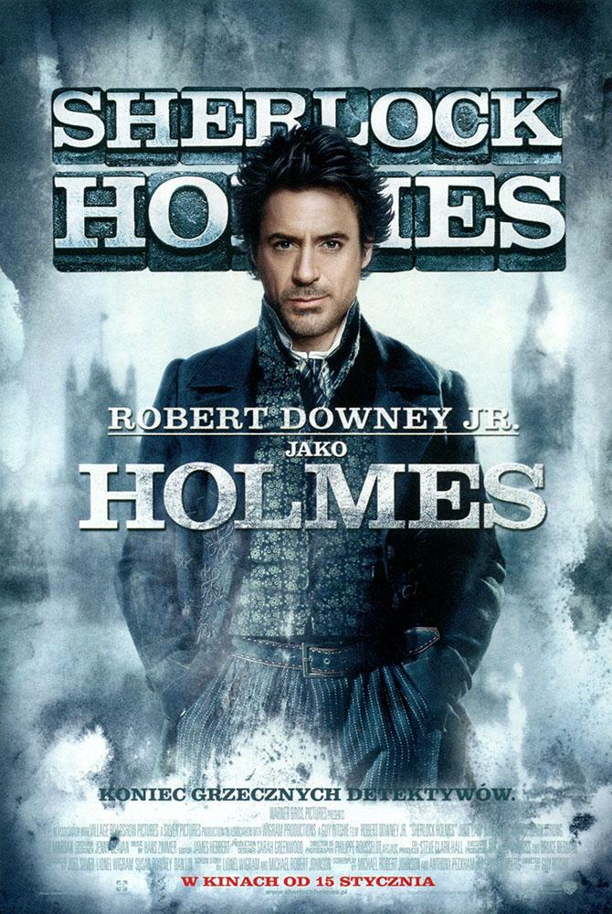 Ulotka filmu 'Sherlock Holmes (przód - wersja B)'