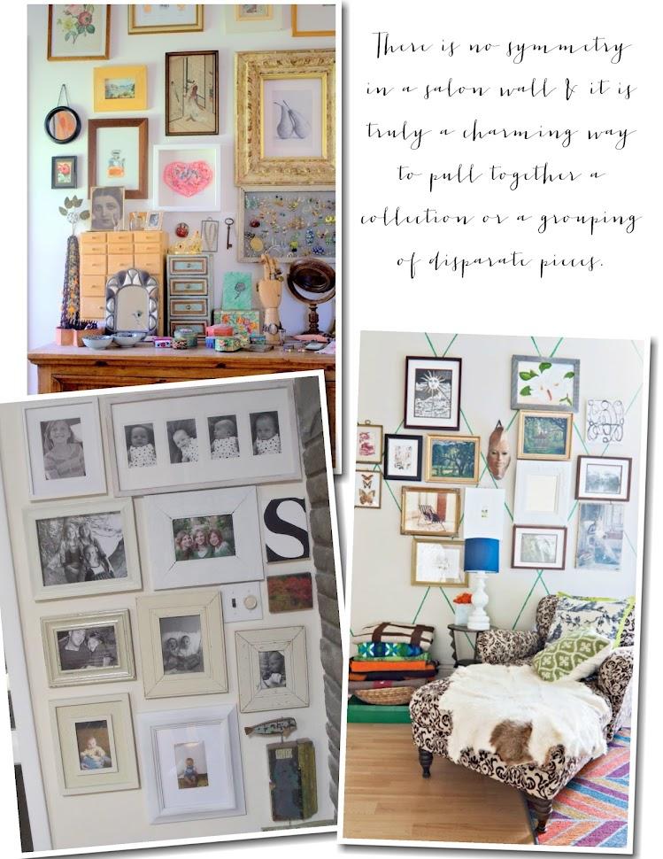 Pinecone inspiration salon walls for Inspiration salon