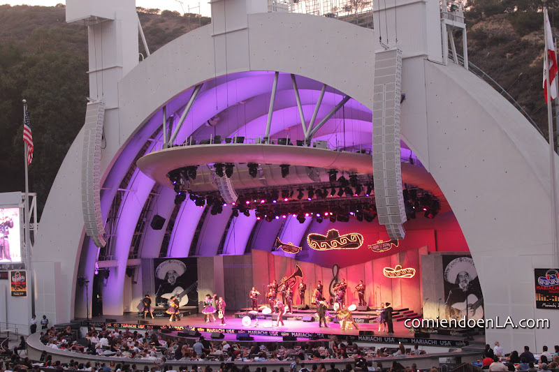 Mariachi night at the Hollywood Bowl