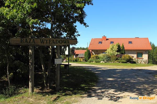 Trasy Nordic Walking w Pomieczynie - Baza Wypadowa Hejtus