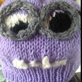 Despicable Me Evil Minion Hat   Knitting Pattern The Knit Guru