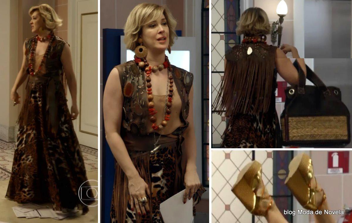 A melhor imagem da moda da novela Alto Astral, look da Samantha dia 10 de novembro