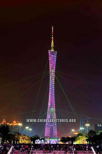 Canton Tower Night Photo 2 2013