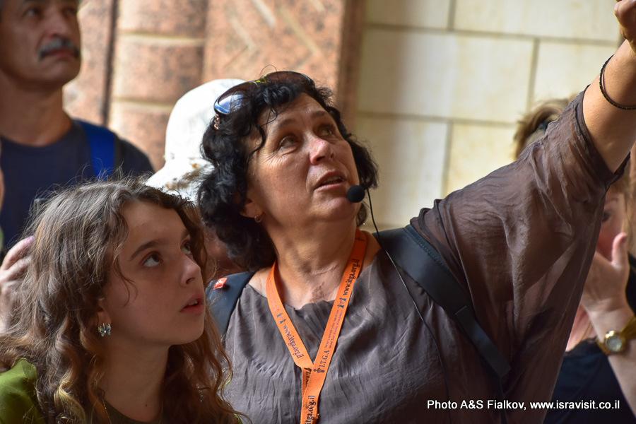 Гид в Израиле Светлана Фиалкова.