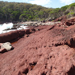 Red rock in red sands bay (103000)