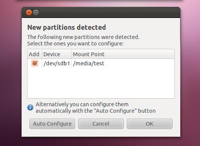 NTFS Config