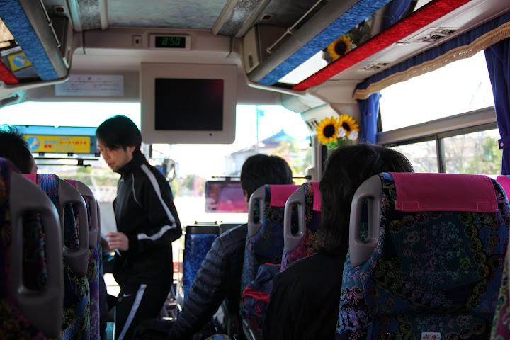 移動のバス