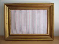 cuadro forrado de tela/fabric frame