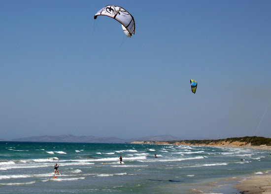 plaża kitesurfingowców - Kohilari Beach Kos
