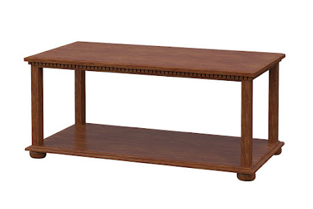 Valencia Coffee Table in Old Master Quarter Sawn Oak
