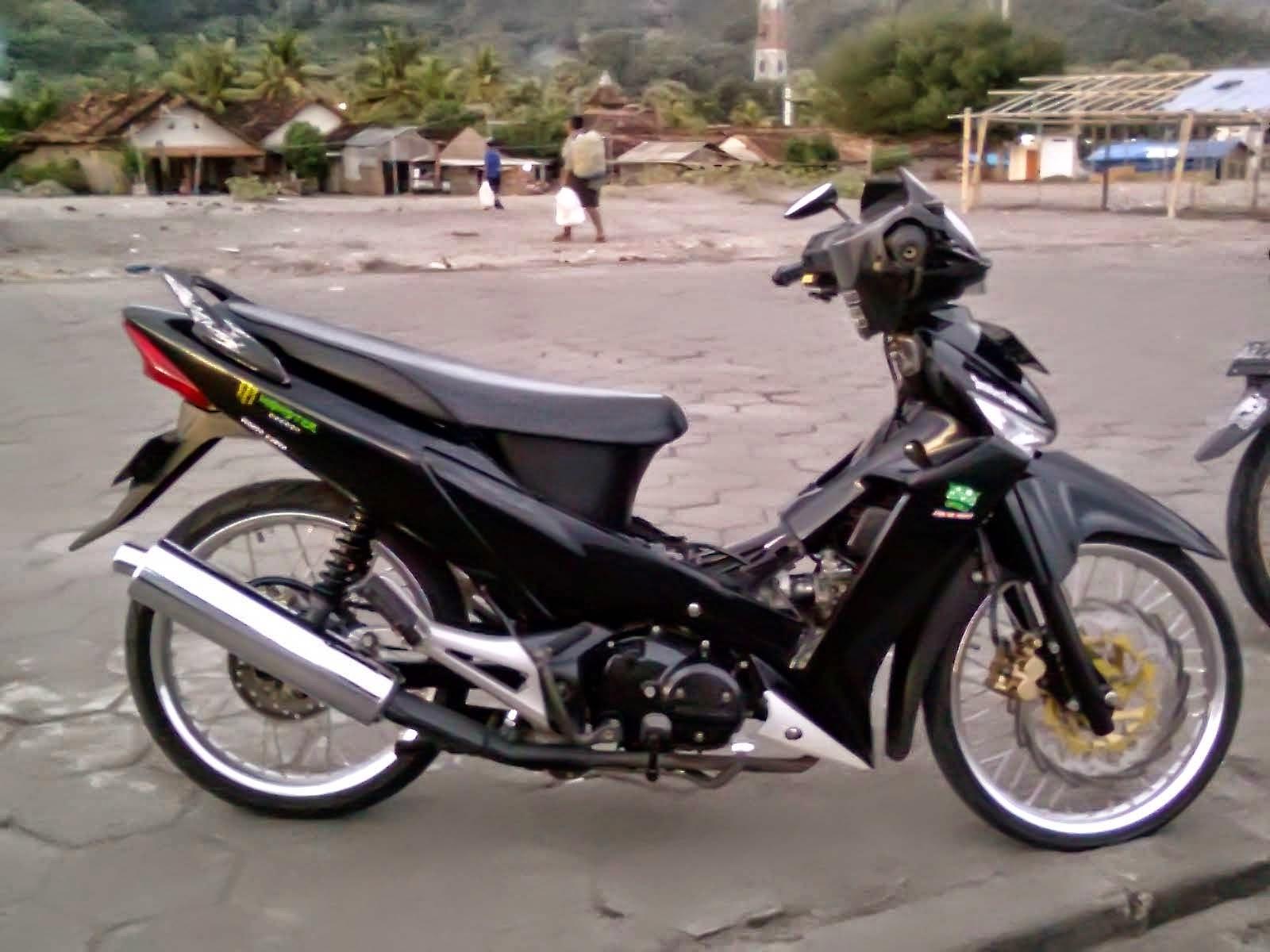 modifikasi motor honda karisma 125d