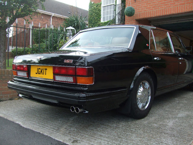 Bentley Turbo R two tone chrome