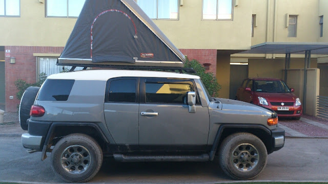 Note the low profile : fj cruiser roof tent - memphite.com