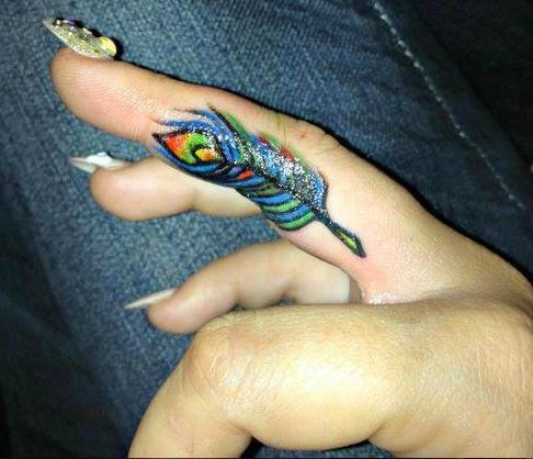 170 best finger tattoos designs and ideas designatattoo for Finger tattoos fade