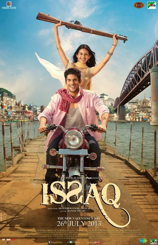 Poster Of Hindi Movie Issaq (2013) Free Download Full New Hindi Movie Watch Online At alldownloads4u.com