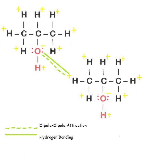 Isopropanol: Forces of Attraction!