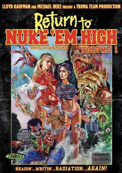 Poster Of English Movie Return to Nuke 'Em High Volume 1 (2013) Free Download Full New Hollywood Movie Watch Online At Alldownloads4u.Com
