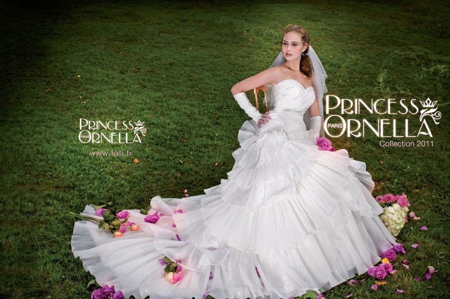 ... Rétro: Les robes de mariée Princess Ornella pour Tati (2010-2011