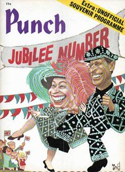Punch - Silver Jubilee issue