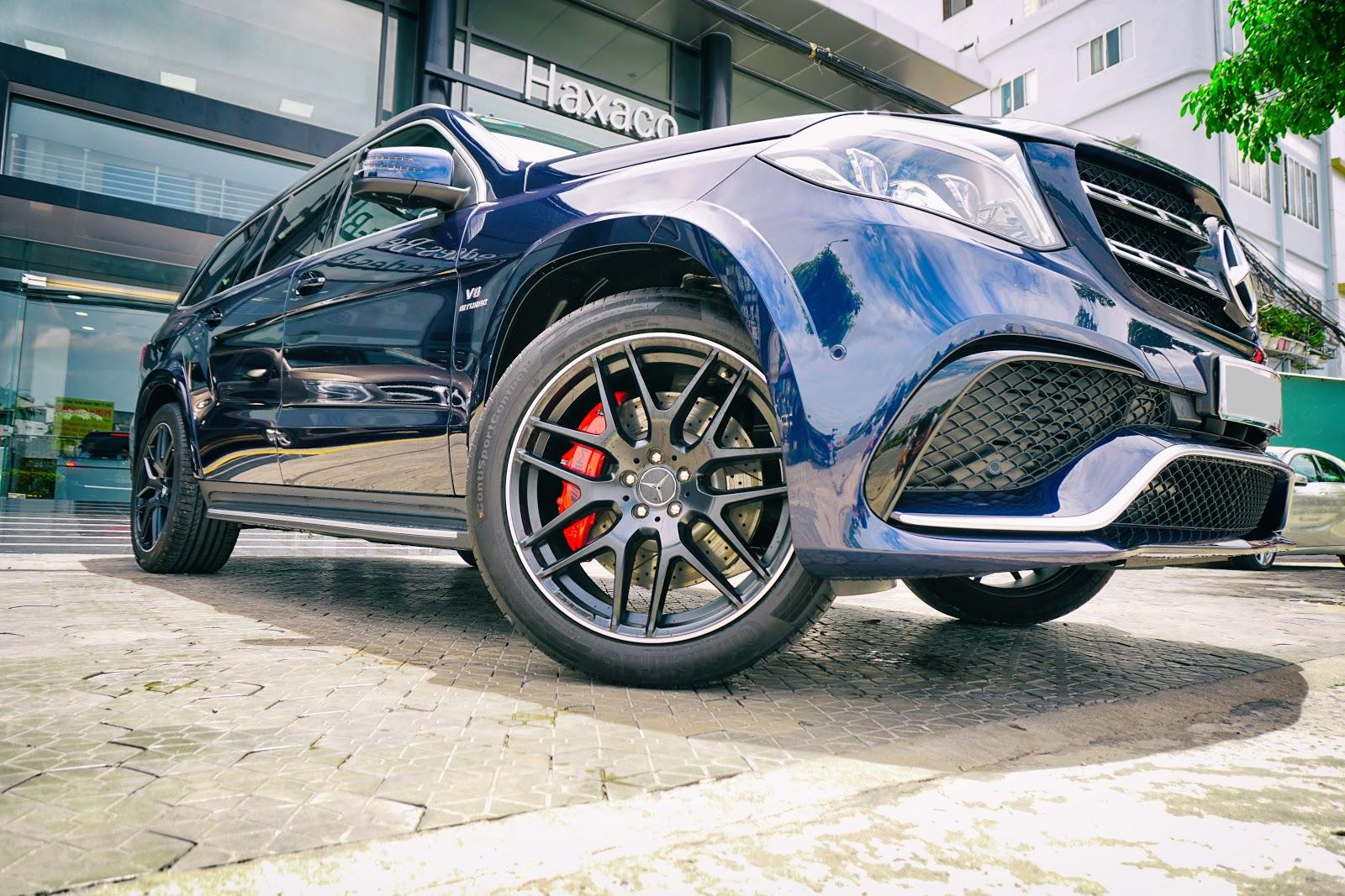 Đây là chiếc Mercedes-AMG GLS 63 duy nhất tại Việt Nam thời điểm hiện tại