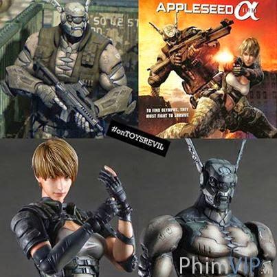 Biệt Đội Alpha - Appleseed Alpha poster