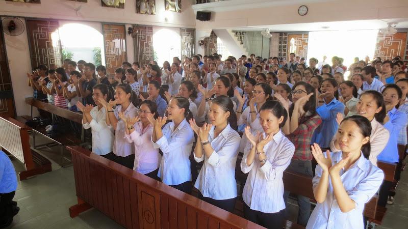 Buổi sinh hoạt đầu tiên của các bạn trẻ giáo hạt Nha Trang