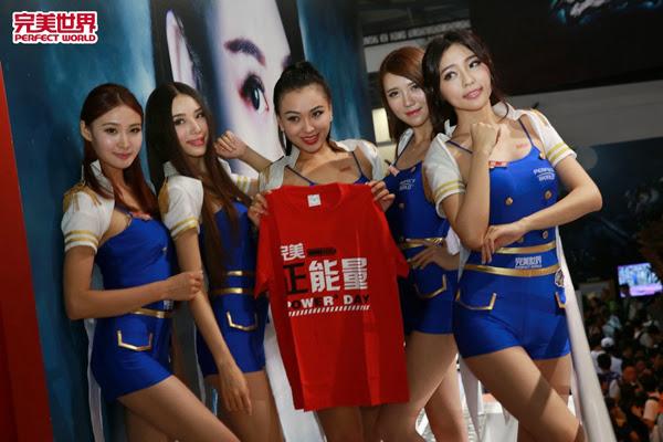 Ngắm dàn mỹ nữ của Perfect World tại ChinaJoy 2013 28
